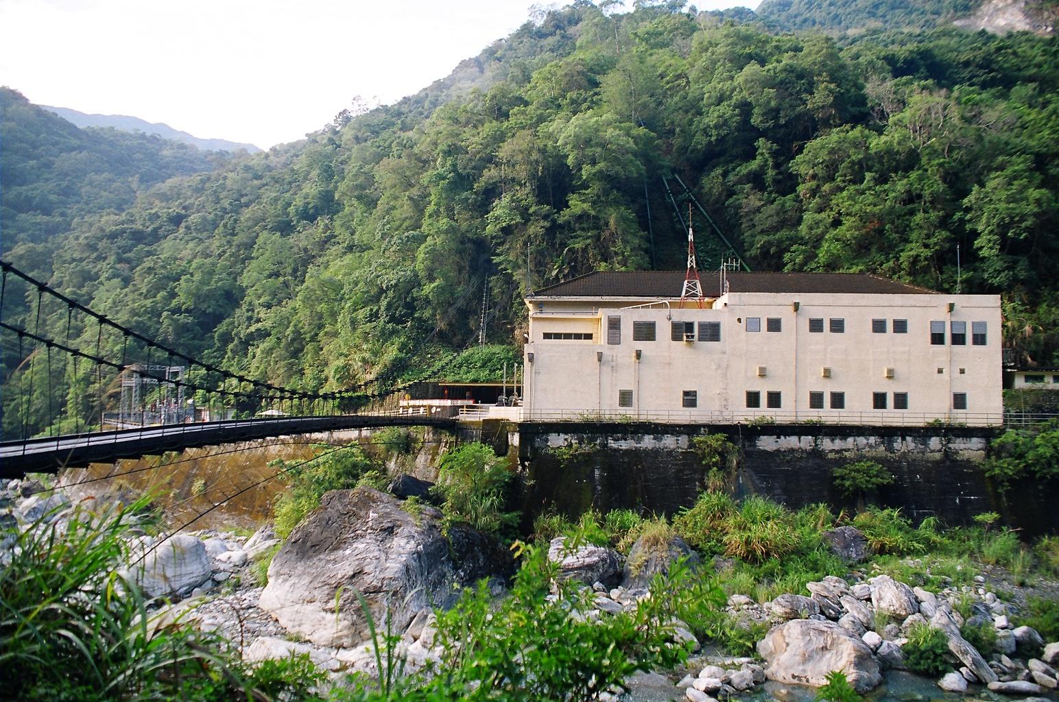 東部發電廠銅門機組 出處:台灣電力股份有限公司